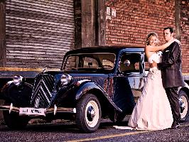 Oldtimer Hochzeitsauto mieten